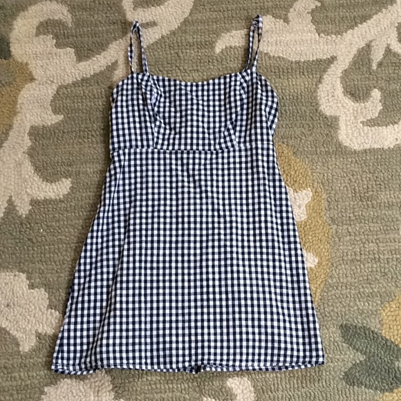 Brandy Melville Dresses & Skirts - Brandy Melville Black and White Plaid Dress